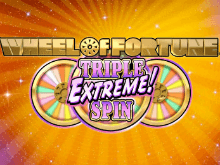 Онлайн автомат Wheel Of Fortune: Triple Extreme Spin